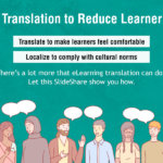 E-learning Translation: 4 Things that Bring Down Learner Isolation
