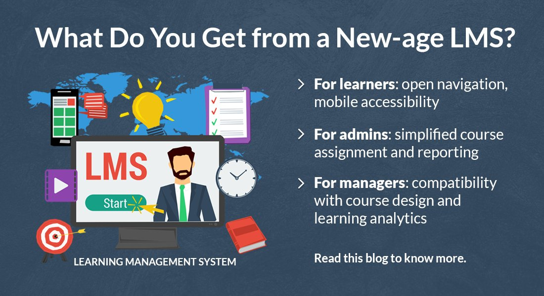 It's Time for a Rapid New-age Learning Management System (LMS)