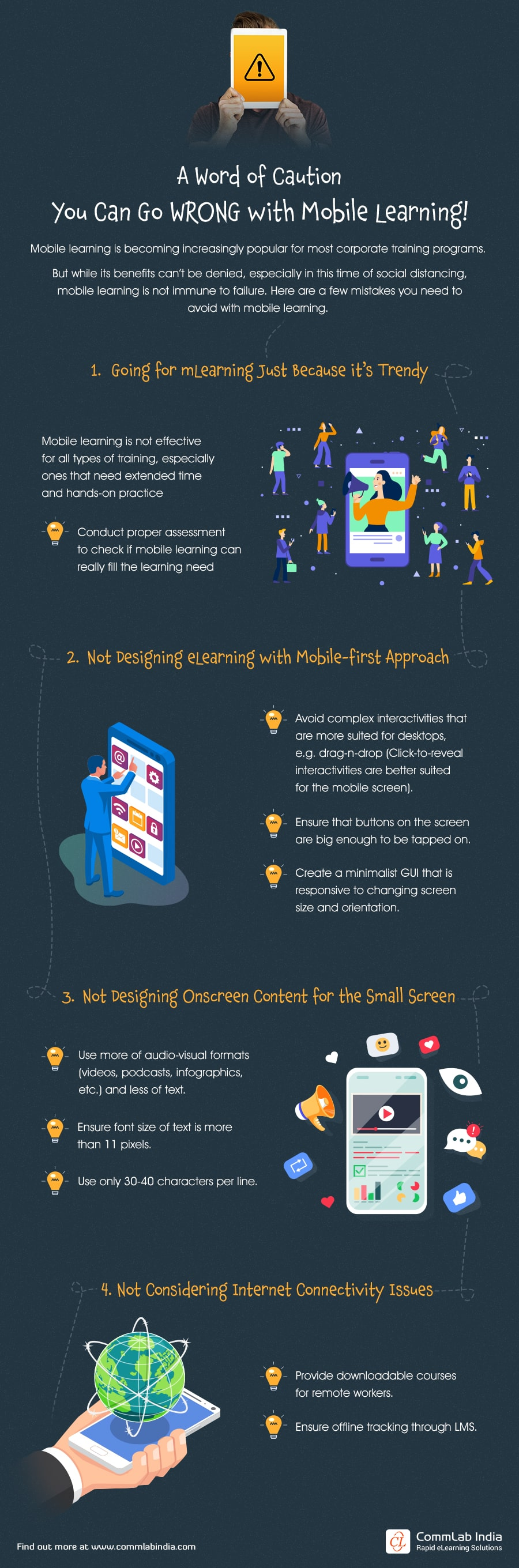 Mobile Learning: When Can mLearning Fail to Live up to Its Expectations?