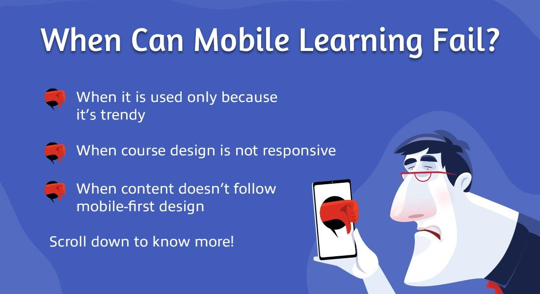 A Word of Caution: You Can go WRONG with Mobile Learning! [Infographic]