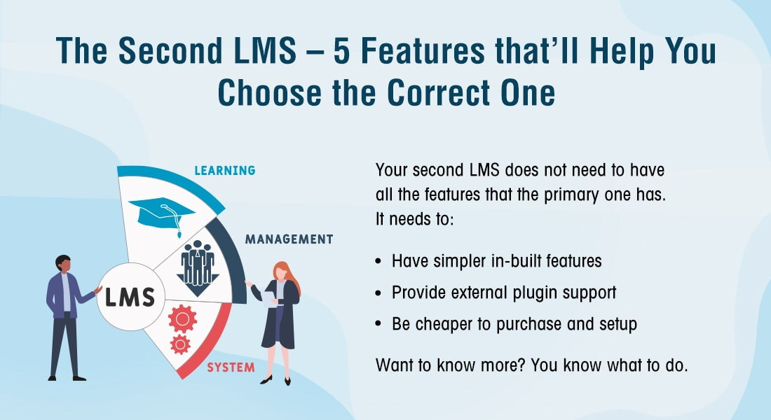 Top 5 Features to Look for in a Second LMS [Infographic]
