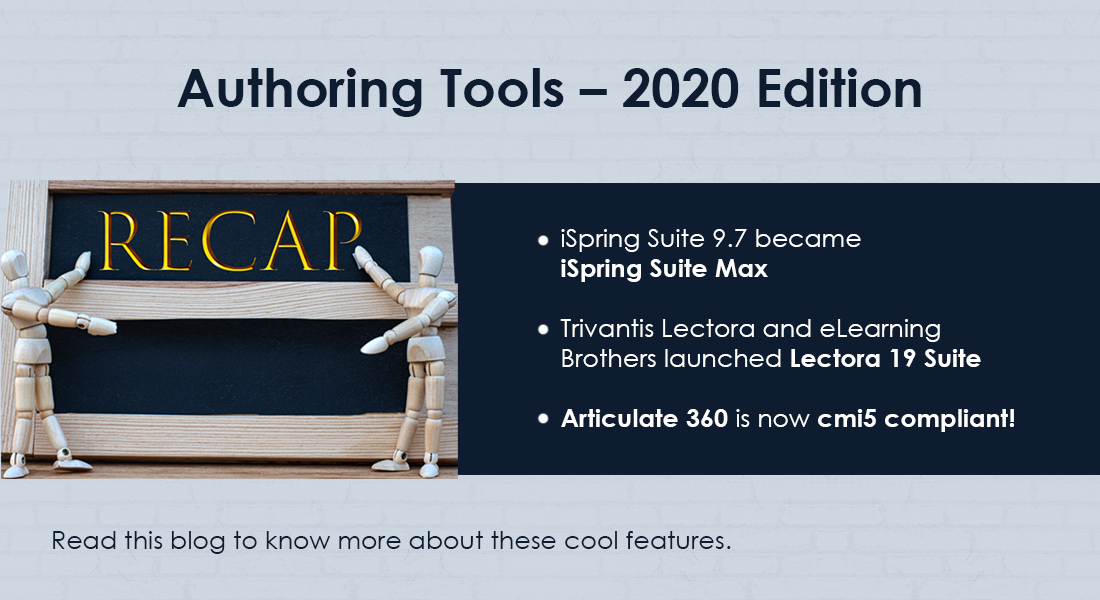 ELearning Authoring Tools: The New 2020 Updates and Enhancements
