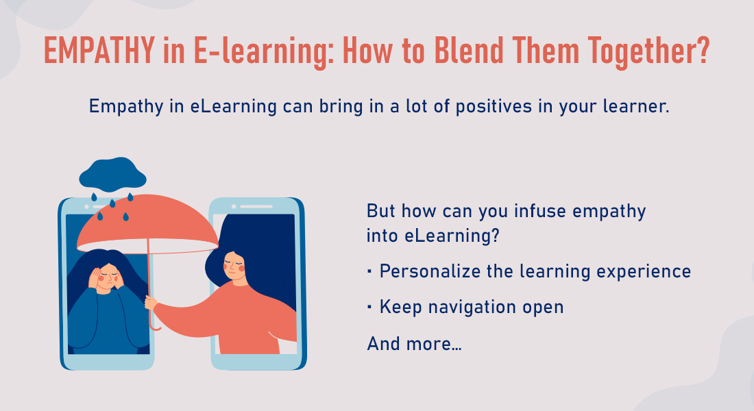 E-learning and Empathy: 4 Ways to Make Them Meet!