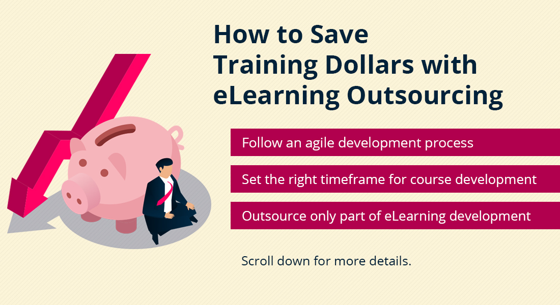 4 Tips to Reduce Costs with eLearning Outsourcing [SlideShare]