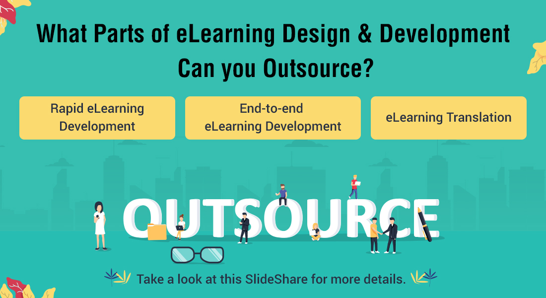 eLearning Outsourcing: 5 Elements that You Can Pawn off to a Vendor