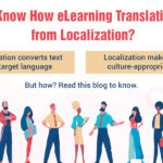 E-learning Translation: How is it Different from Localization?