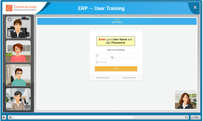 Guided Learning for ERP – End User Training