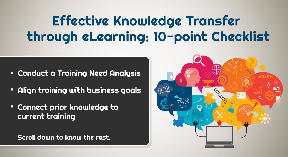How to Ensure Effective Knowledge Transfer Through eLearning