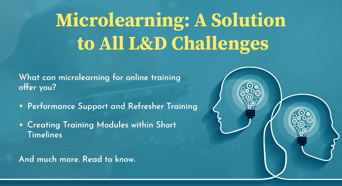 How Microlearning in Online Training Solves 5 L&D Challenges
