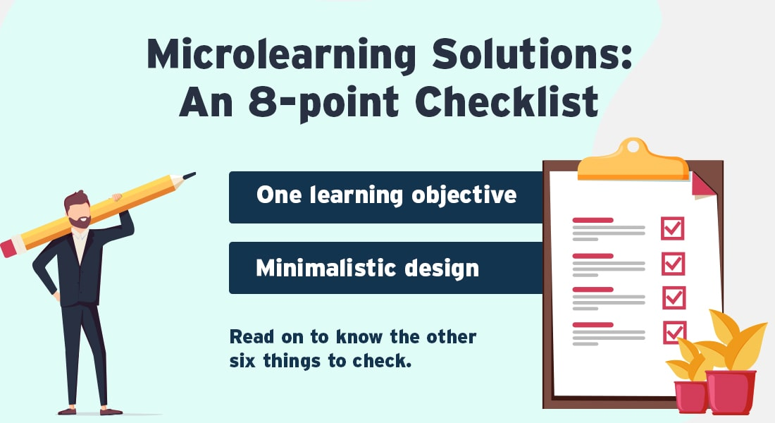 Microlearning Solutions – The 8-Point Checklist