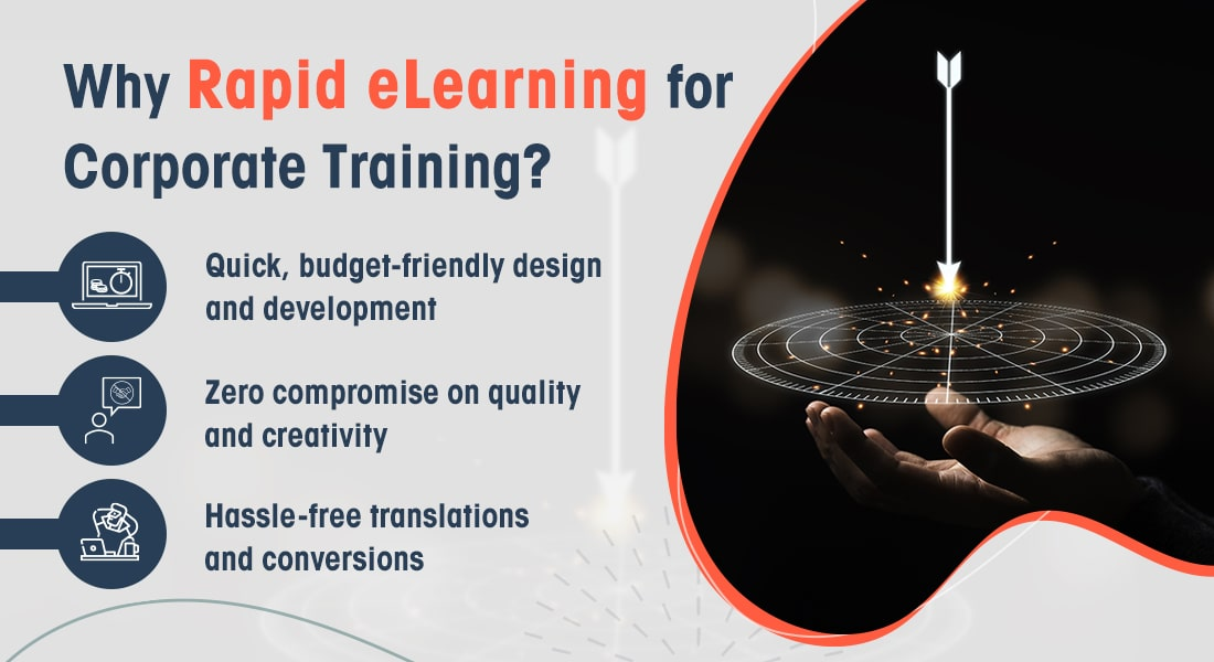 4 Reasons to Crown Rapid eLearning the Champion of Corporate Training [Infographic]