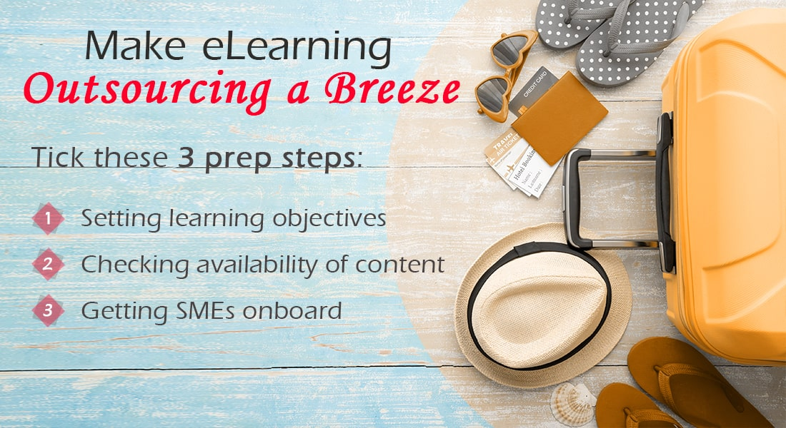 eLearning Outsourcing Made Easy with Prep Work – Set Yourself Up for Success