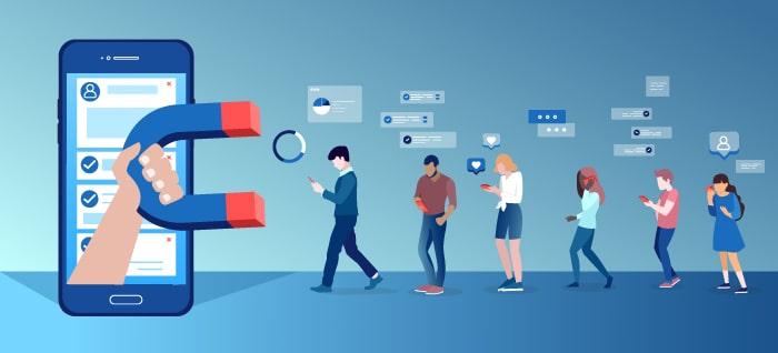 People Attracted to Various Social Media Platforms