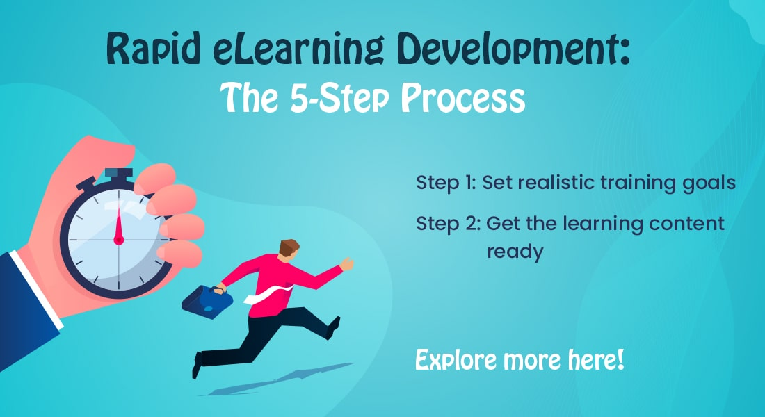 Win the Race Against Time with our 5-Step Rapid eLearning Development Process