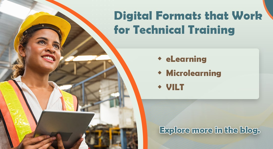 Blended Learning: Exploring Online Formats to Aid Technical Training