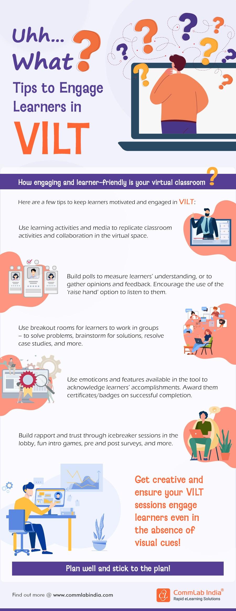 VILT – Engagement Tips and Strategies